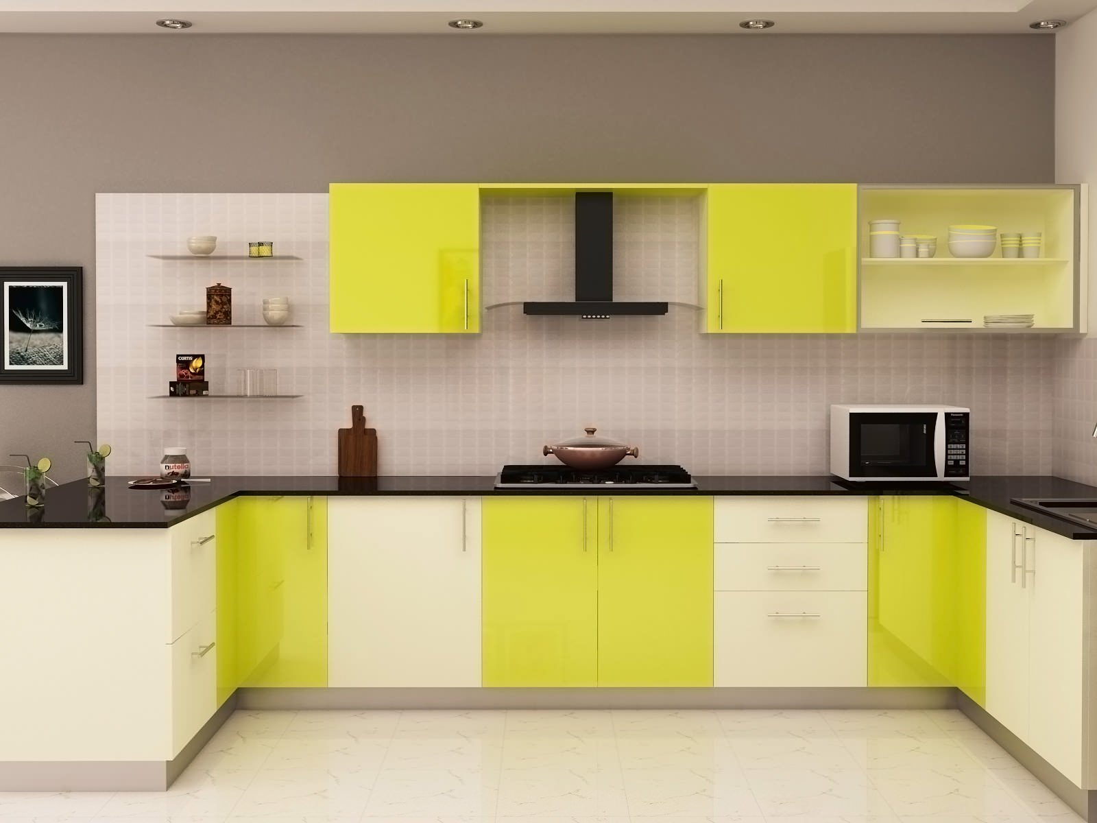Lariokitchen modular kitchens chennai wardrobes Modular kitchen design colors