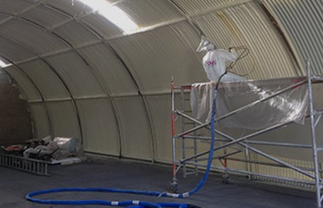 commercial spraying service