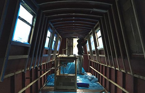 electrical wiring in the boats