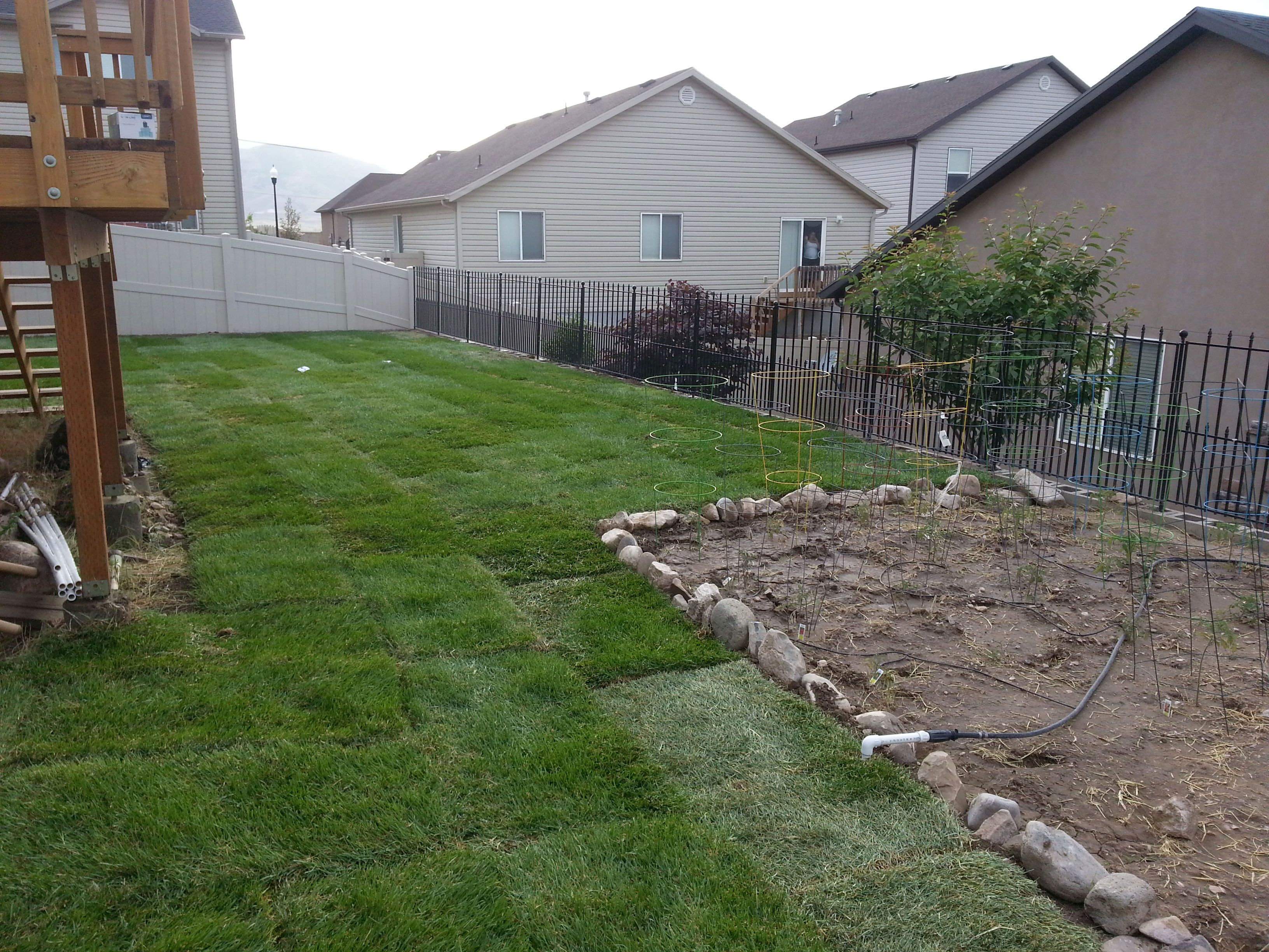 Freshly laid sod - call today for your fresh sod to be delivered!