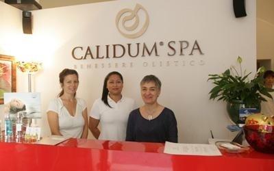 Accoglienza Calidum centro benessere La Spezia