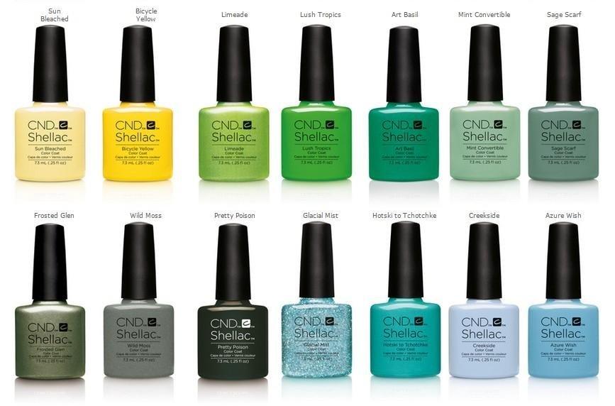 semi-permanent nail polish Shellac La Spezia