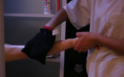 scrub braccia