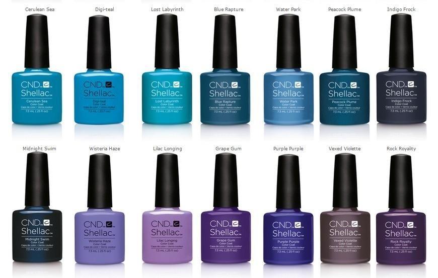 nail polish trends summer 2016 shellac La Spezia