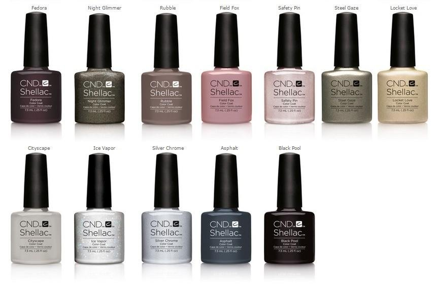 CND Shellac nail polish La Spezia