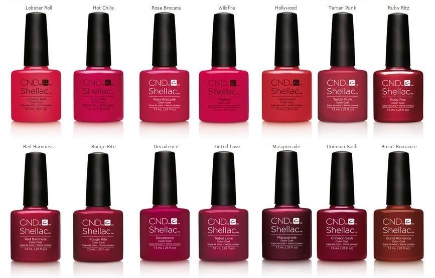 application nail polish Shellac La Spezia