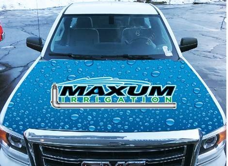 Maxum Irrigation truck for sprinkler maintenance in Waterford
