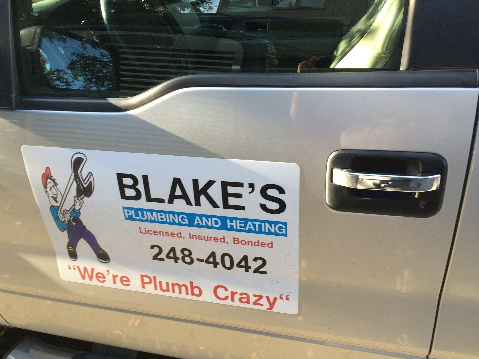 Blake's Plumbing & Heating