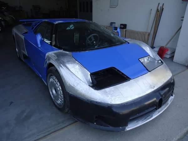 fasi di restauro auto