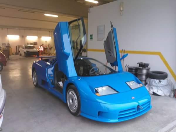 restauro auto sportiva