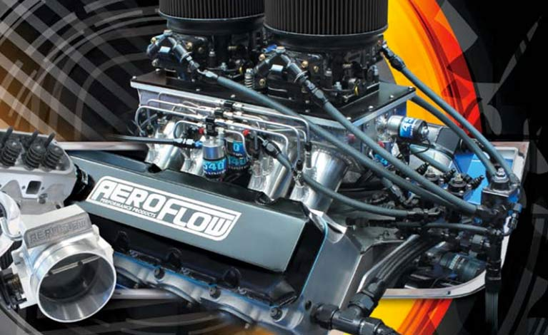 Aeroflow air filter and hoses