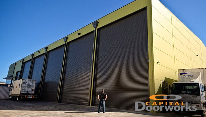 large roller shutters