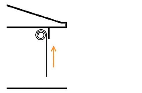 roller door diagram