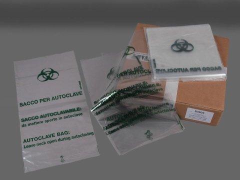 confezione sacchetti per autoclave