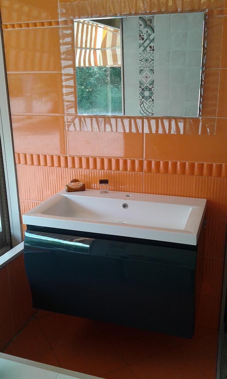 bagno laccato lucido