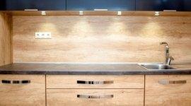 cucine in massello moderne, cucine lineari, cucine attuali