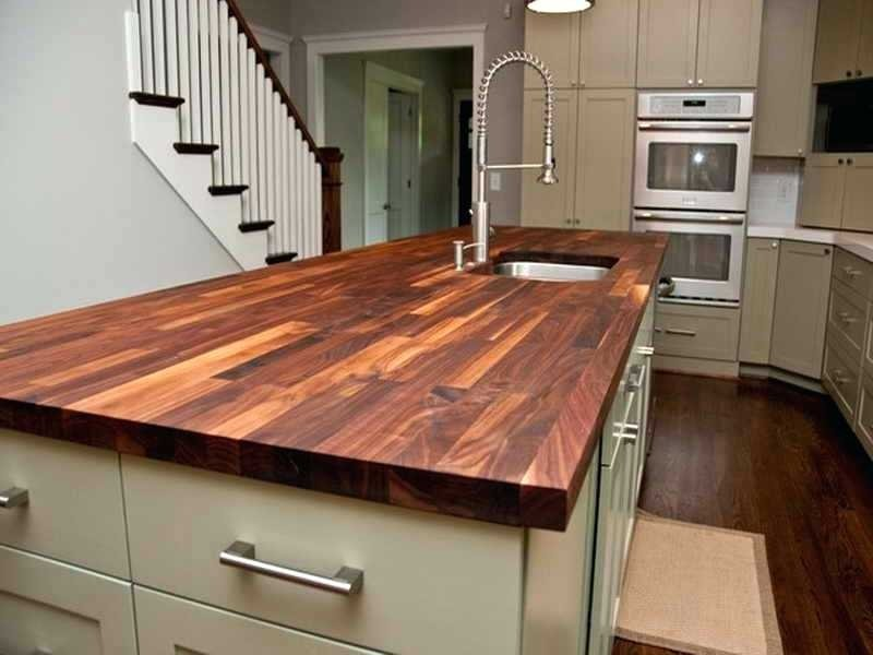 custom wood countertops. Black Bedroom Furniture Sets. Home Design Ideas