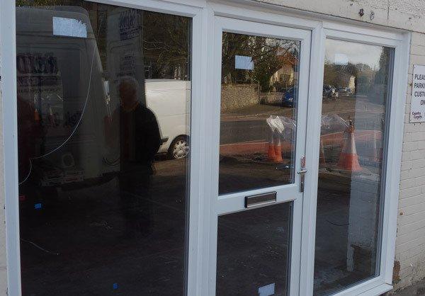 Installed door and windows in Lanark