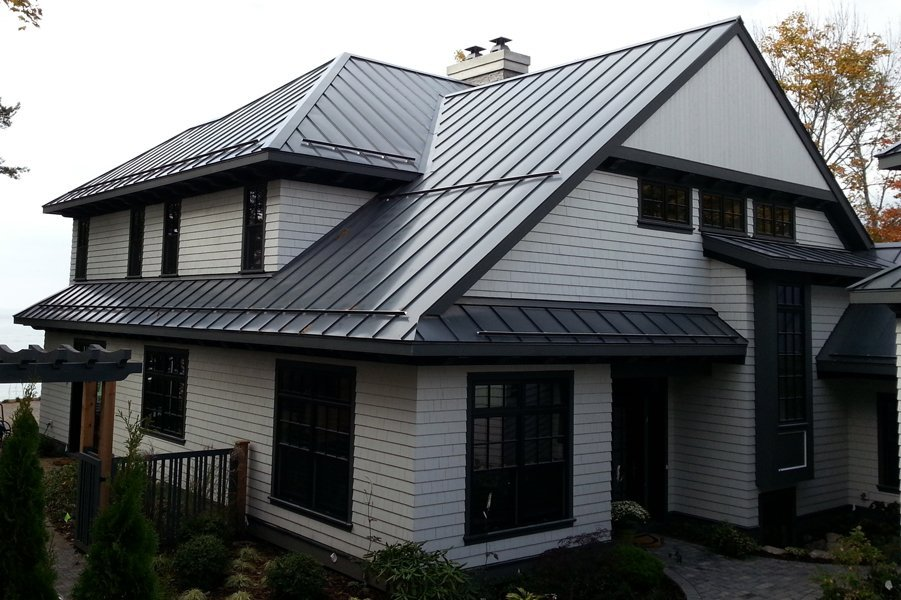 slide title - Standing Seam Metal Roof Cost
