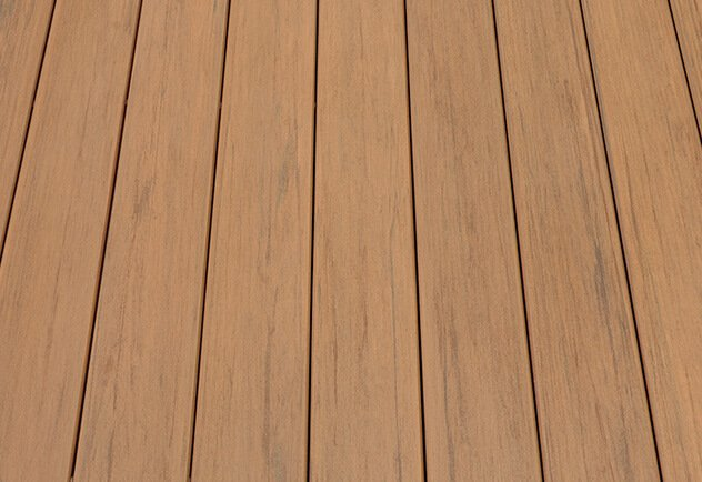 Capped wood composite: TimberTech