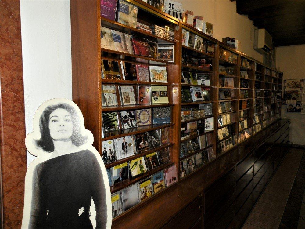 CD in esposizione