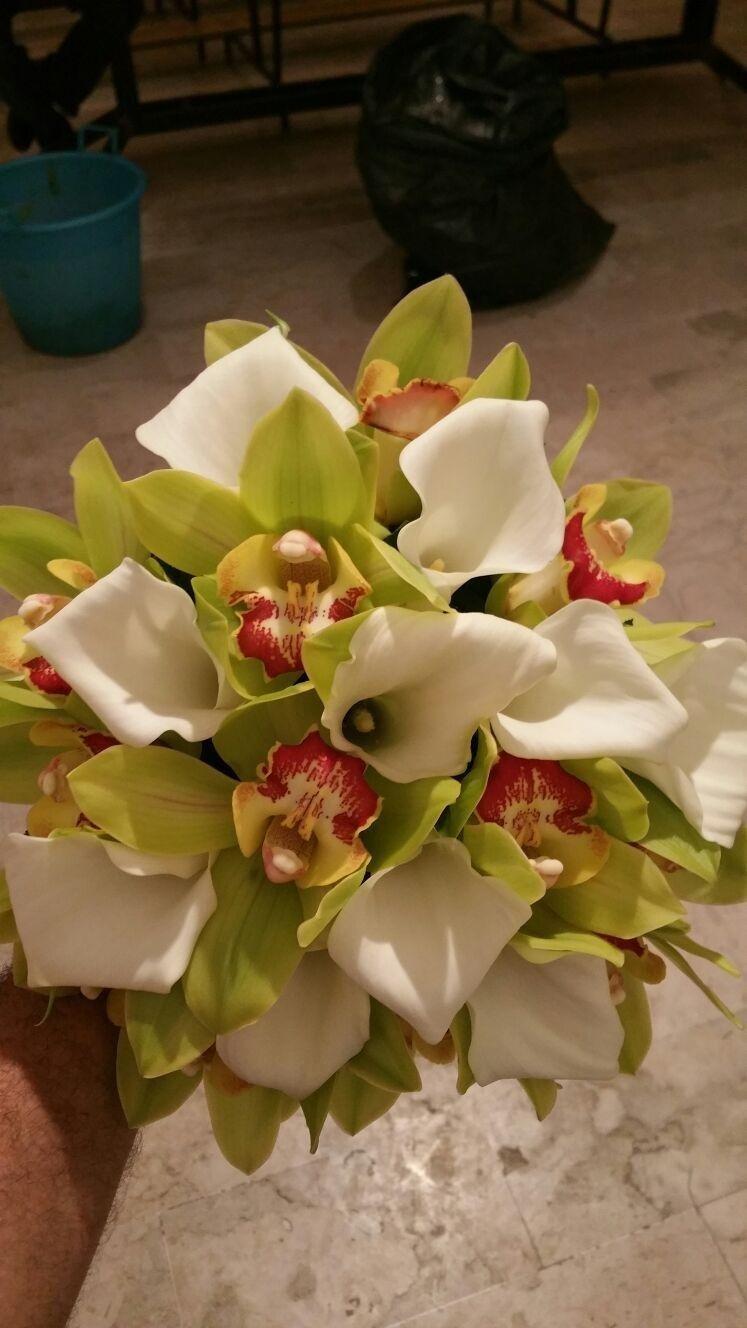 bouquet sposa calle bianche