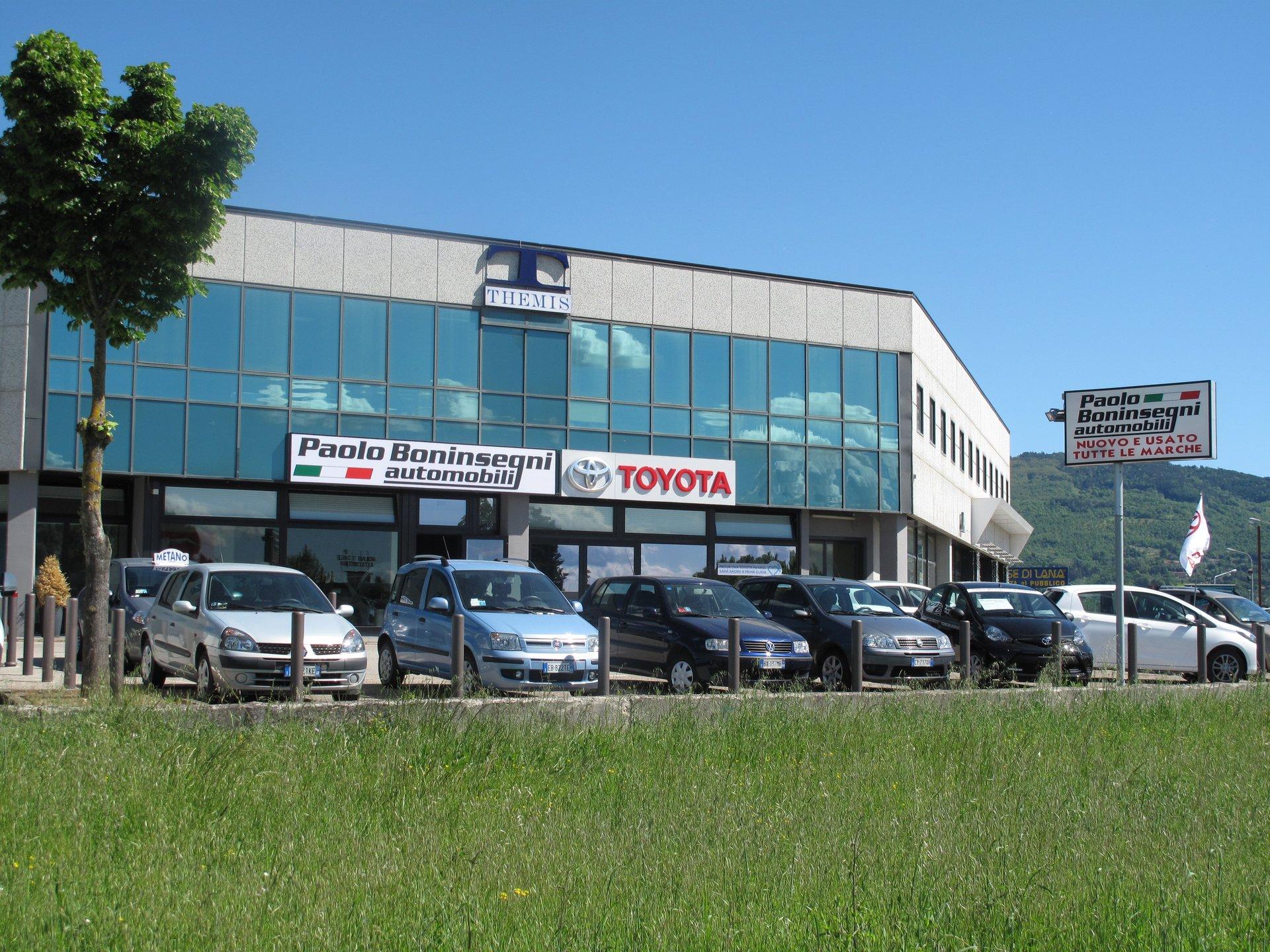 il concessionario Paolo Boninsegni Automobili Toyota