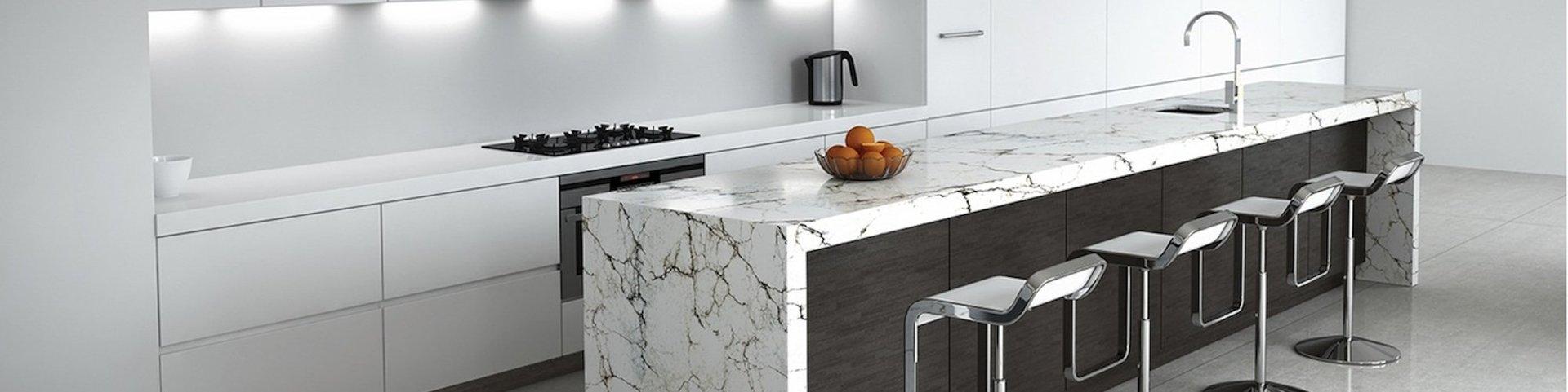 bancone cucina in marmo
