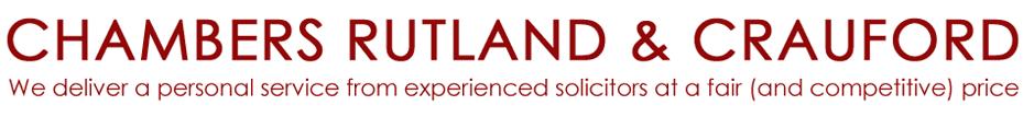 Chambers Rutland & Crauford logo