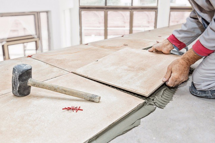 vinyl and tile flooring installation in Buffalo, NY