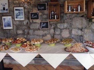 buffet per feste a tema