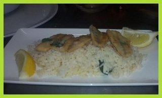 riso con pesce persico