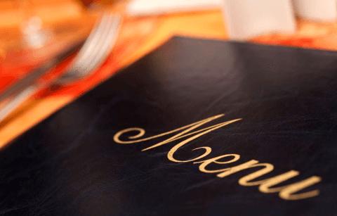 menù ristorante osteria 61
