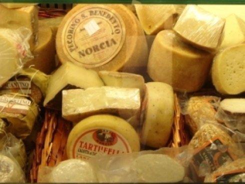 vendita formaggi