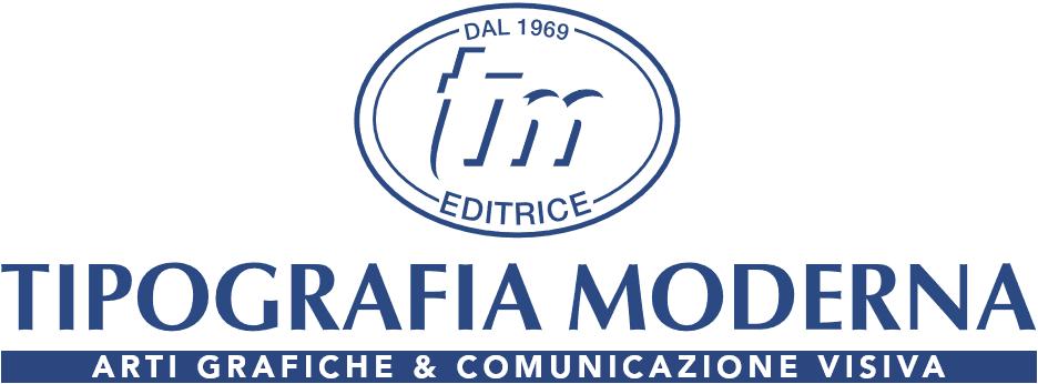 tipografia moderna logo