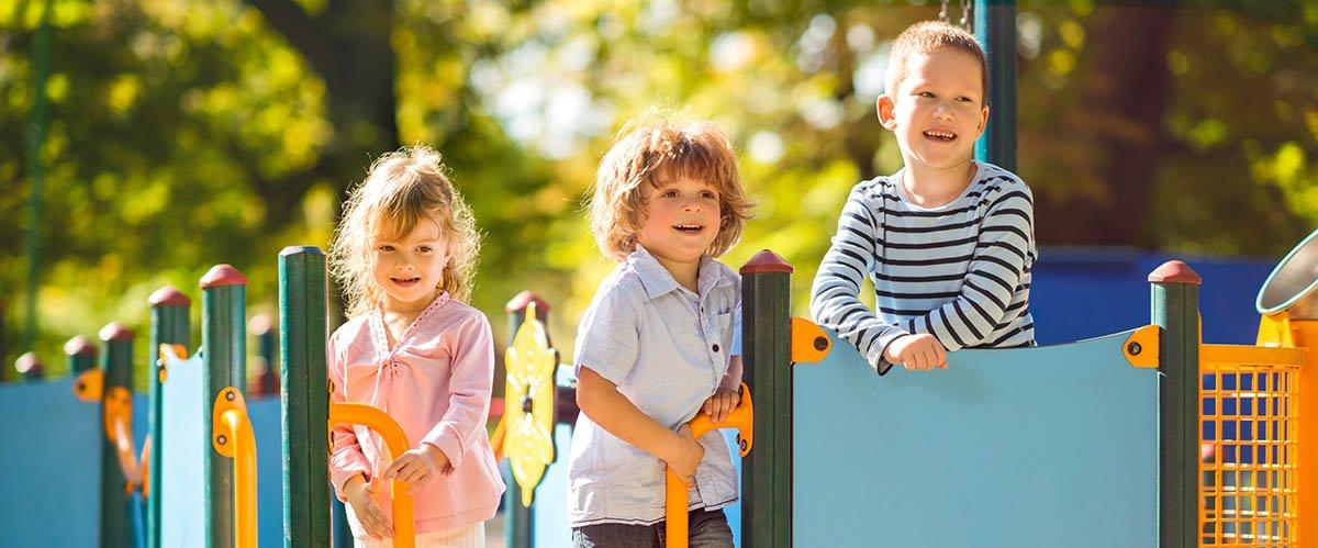 kids at the nursery
