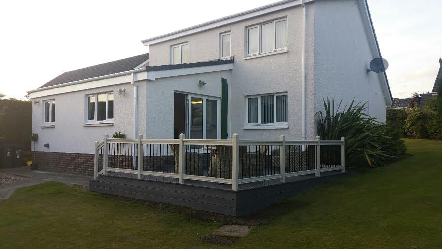 Single storey extension, Helensburgh