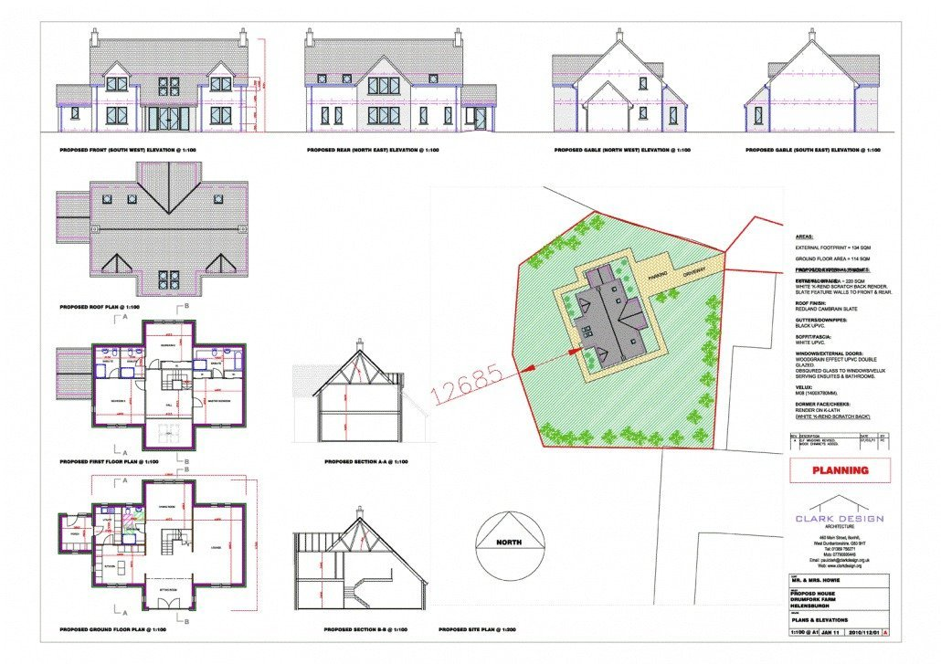 New build house, Helensburgh
