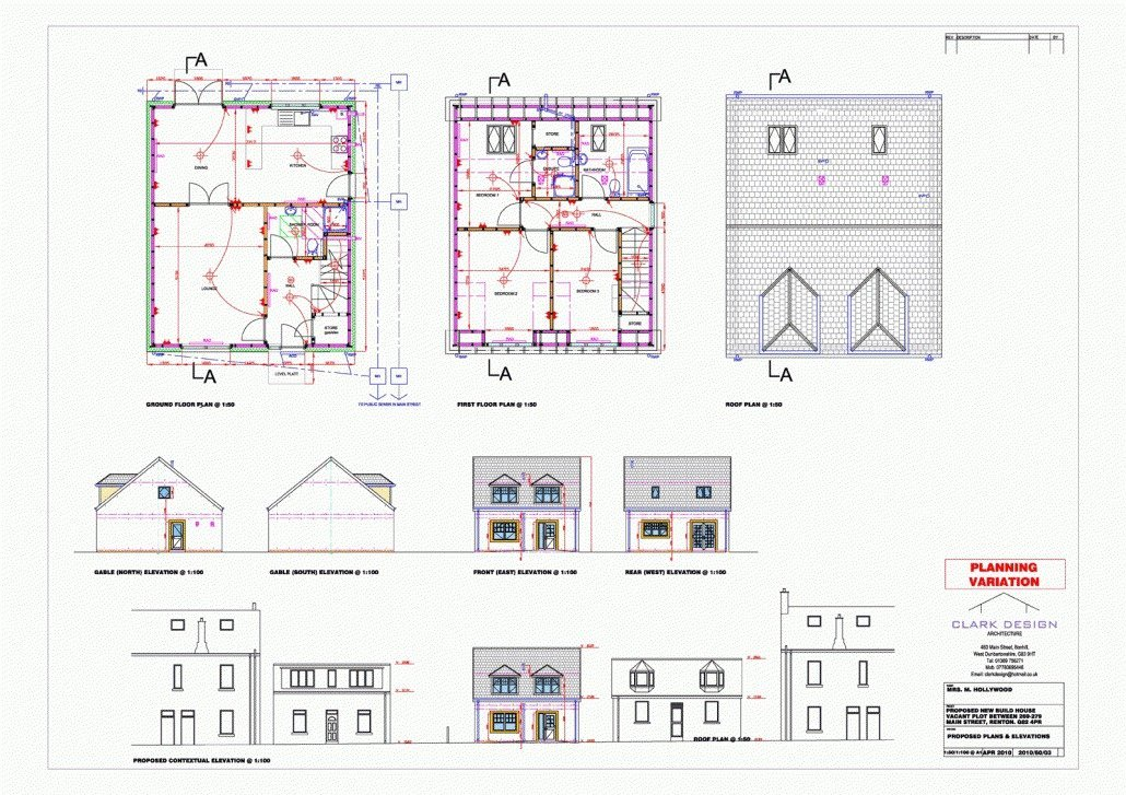 New build house, Dumbarton