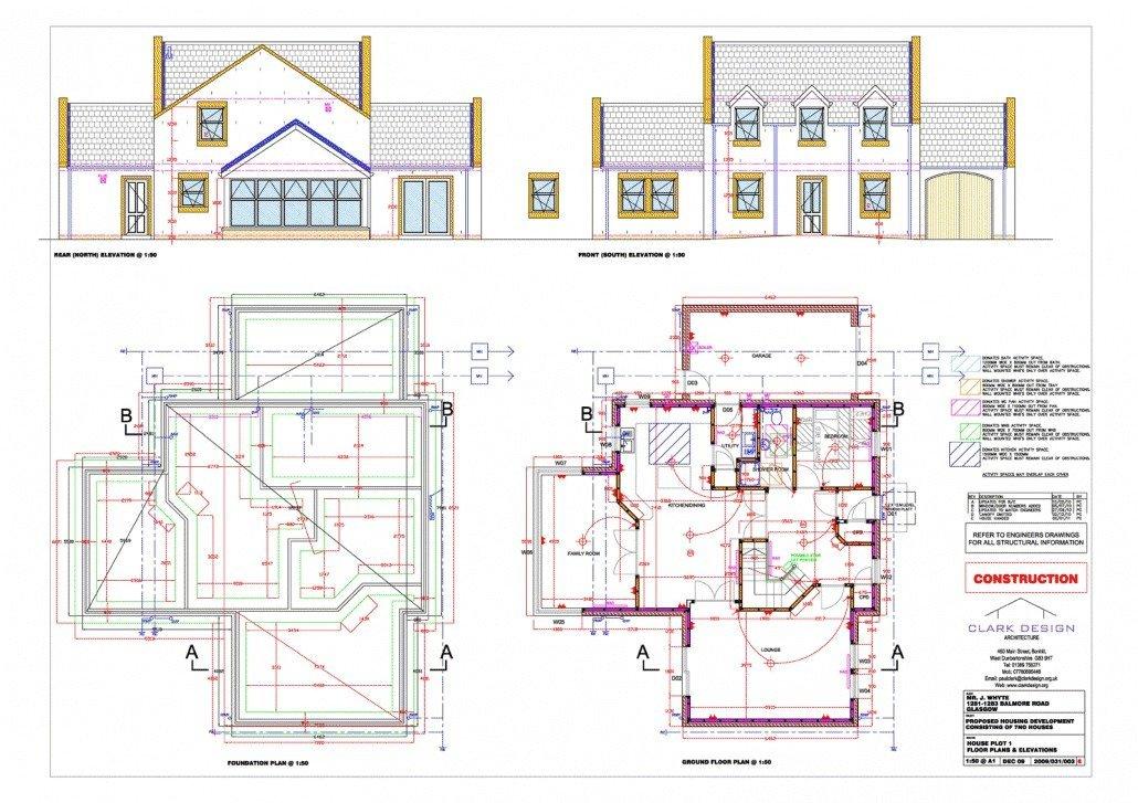 New build house, Milngavie