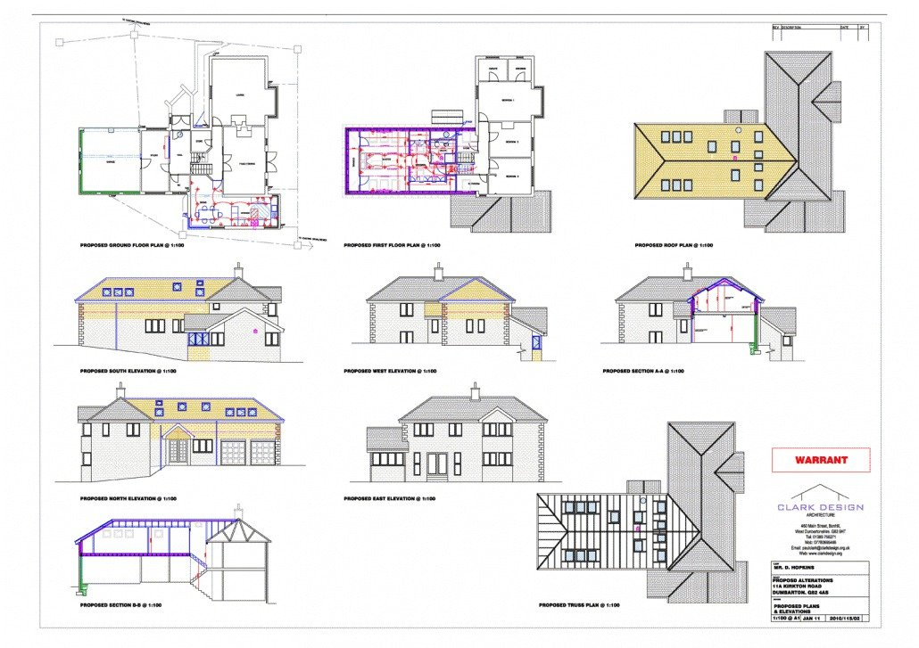 Upper floor extension