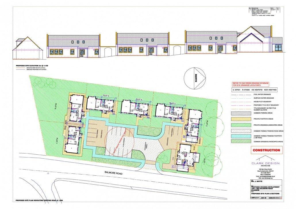 Housing development in Milngavie area