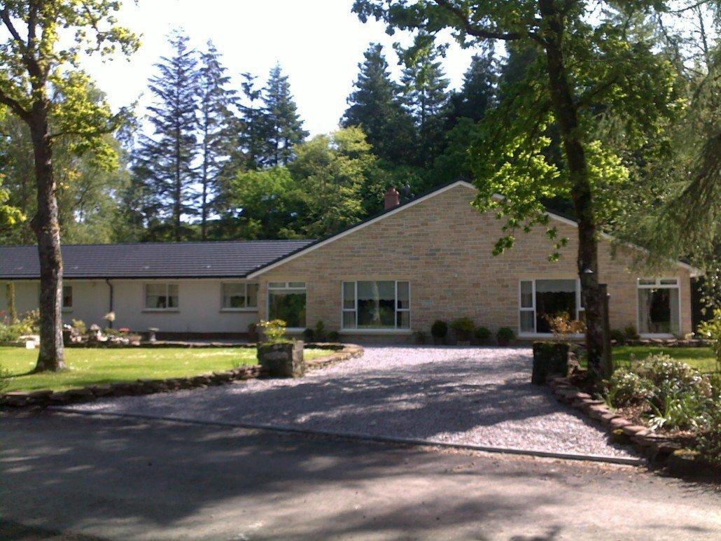 New build home, Buchanan Castle, Drymen