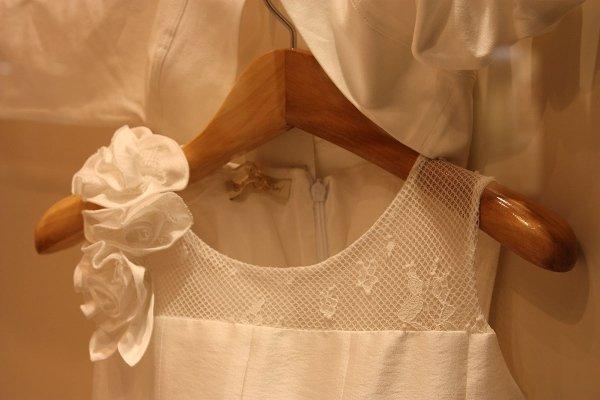 Particolare abito cerimonia