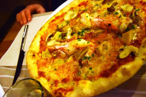 bruschette e pizze