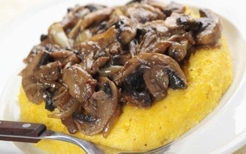 polenta con funghi La Macina