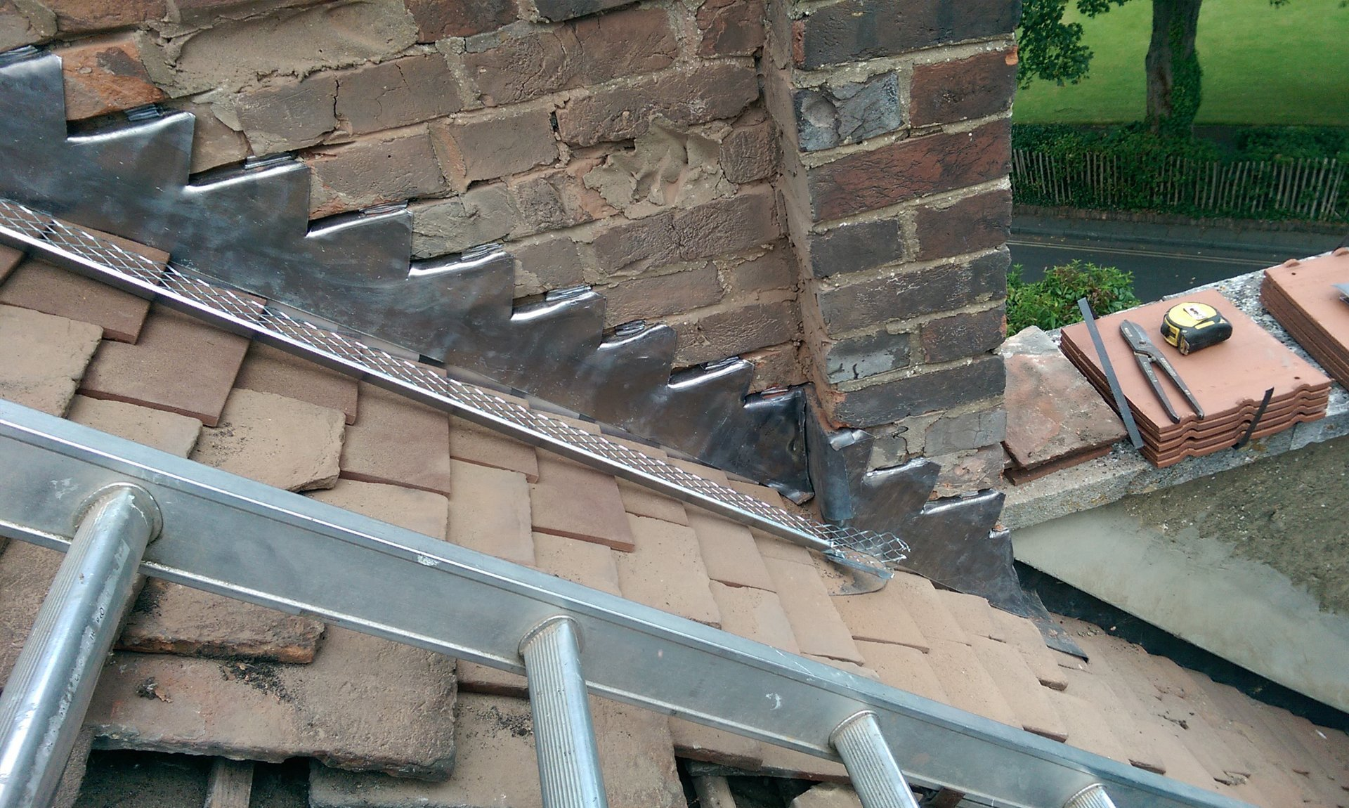 Leadwork services for your roof in Waterlooville