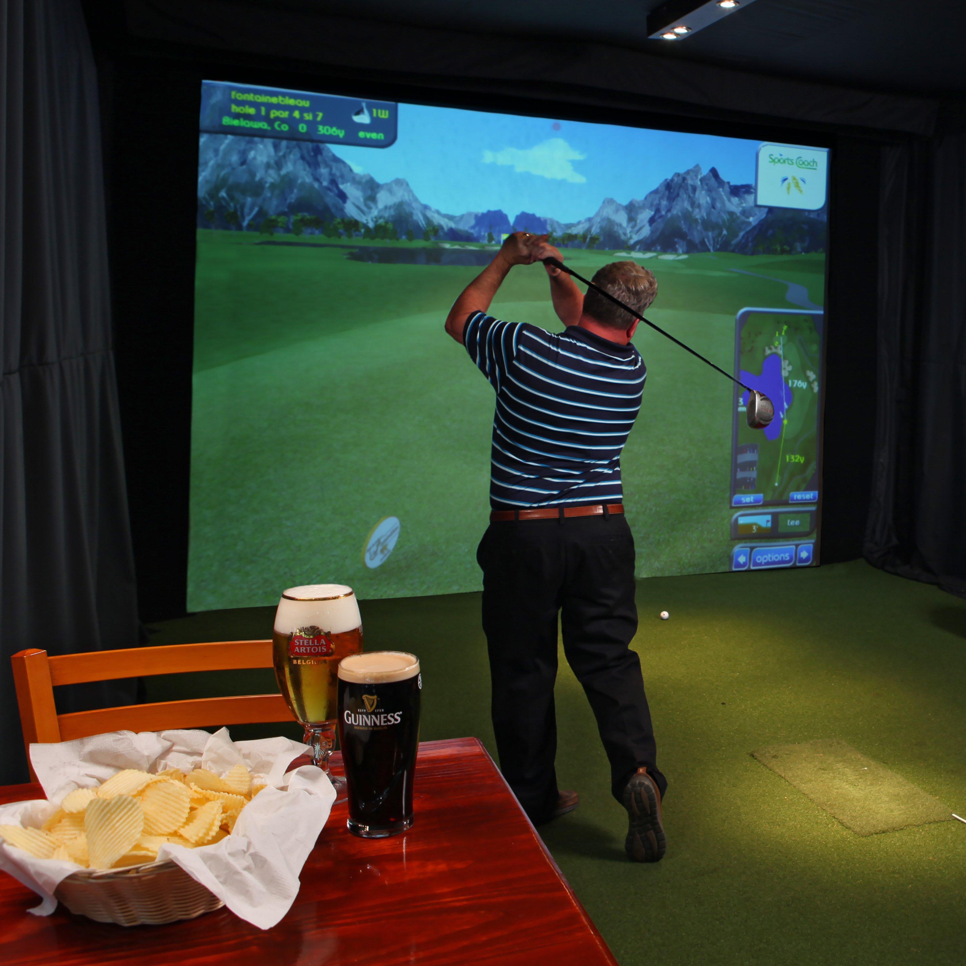 Indoor Golf Simulators in Troy, NY