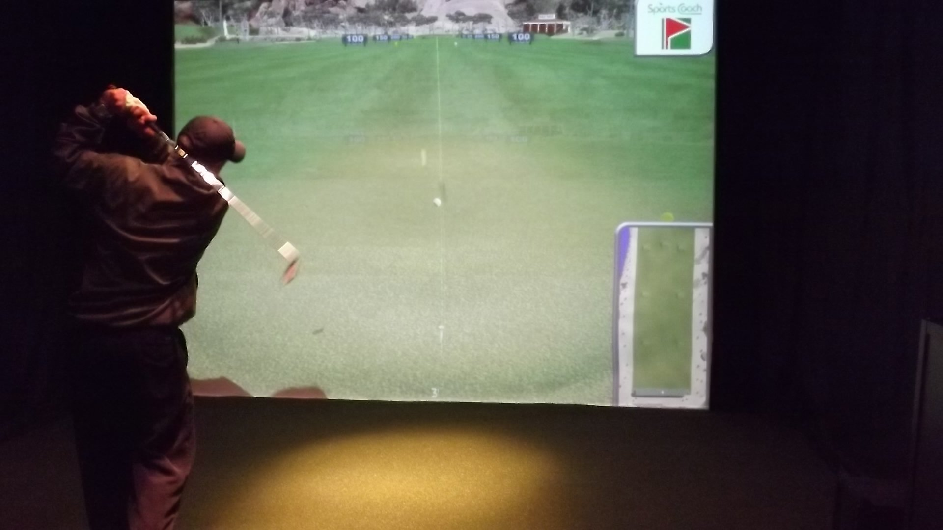 Virtual Golf at Burden Lake Country Club
