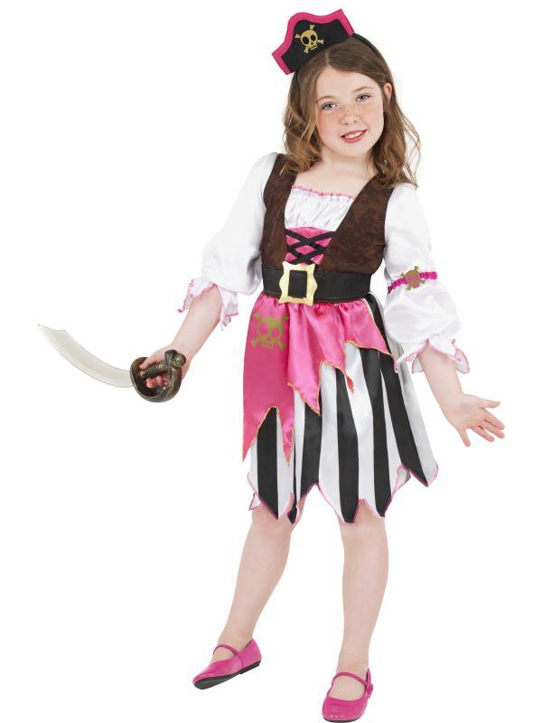 Girl in a costume